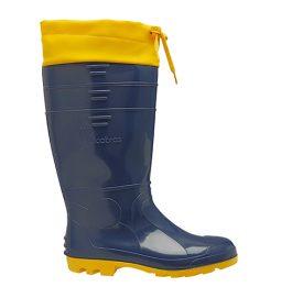 BPCL35 – Bota PVC Cano Longo Azul e Amarela